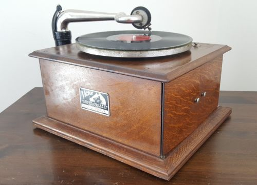 RARE ANTIQUE VICTOR VV-IV 78 RPM RECORD PLAYER PHONOGRAPH GRAMOPHONE VICTROLA