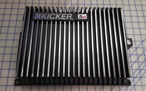 kicker zx460 amplifier old school kicker amp Works!