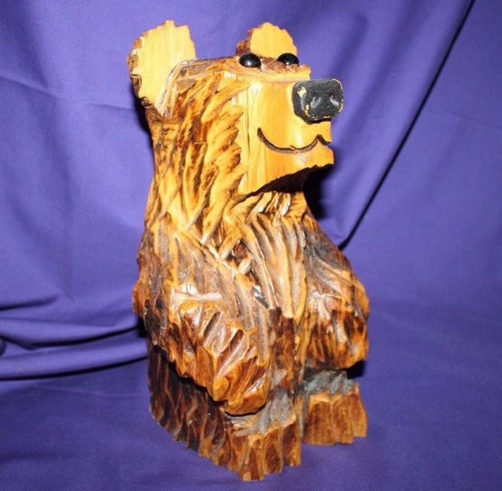 Chainsaw bear carving for sale classifieds