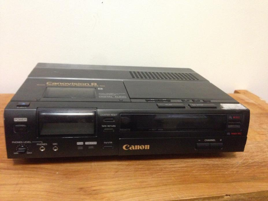 Canon 8mm Video Recorder For Sale Classifieds