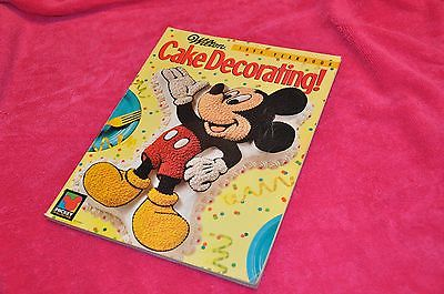 Wilton 1996 Cake Pan Decorating Yearbook Mickey Mouse Used