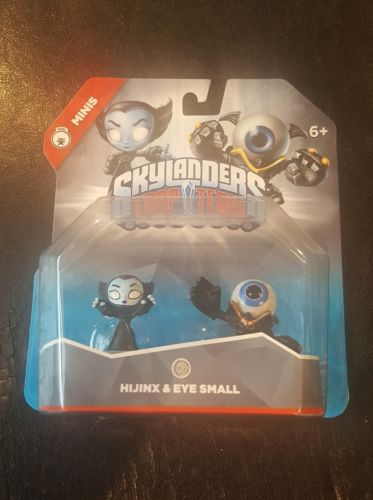 Skylanders Trap Team: Hijinx & Eye Small - Mini Character 2 Pack Brand New
