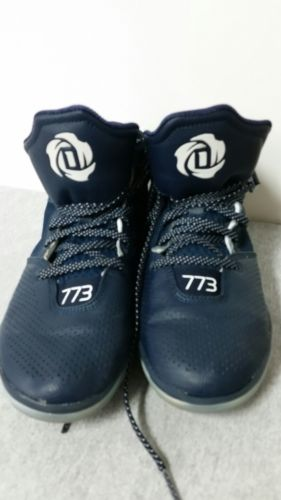 ADIDAS D TOSE 773 IV BASKETBALL SNEAKER SKU 69428 PREOWNED size 8