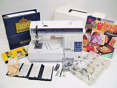 Husqvarna Viking #1+ 300 Computerized  Sewing and Embroidery Machine.  One Owner