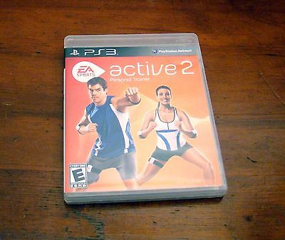 2010 PS3 PlayStation 3 Active 2 Personal Trainer Game Workout Exercise