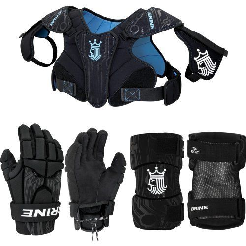 Youth Small Lacrosse Shoulder Elbow Pads Gloves Protective Uprising II 2 Set New