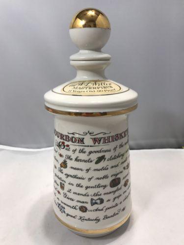 Stitzel Weller Distillery BOURBON Whiskey Bottle Decanter (WS)