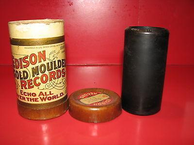 Edison Gold Moulded Record Cylinder #8982 - Vaudeville: