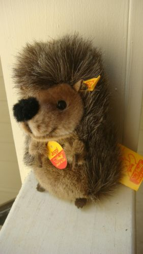 Original Steiff Joggi Hedgehog Plush Vintage 1985