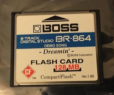 Boss BR-864 128 MB Flash Card