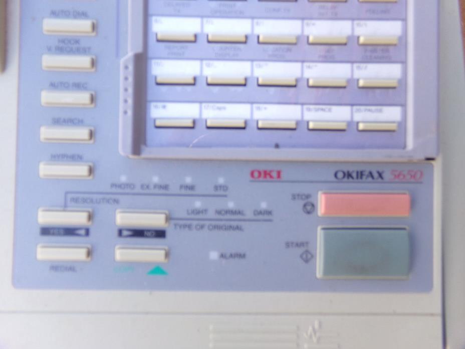 Okidata 5650 Office Fax Machine -UNTESTED! USED