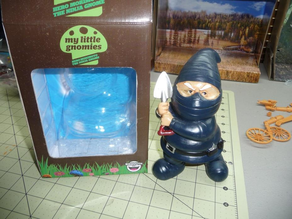 My Little Gnomies Mooning Garden GNOME HERO MORIMOTO THE NINJA GNOME