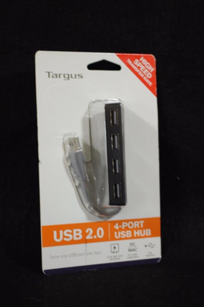 Targus High Speed Transfer Rate USB 2.0 / 4-Port USB Hub