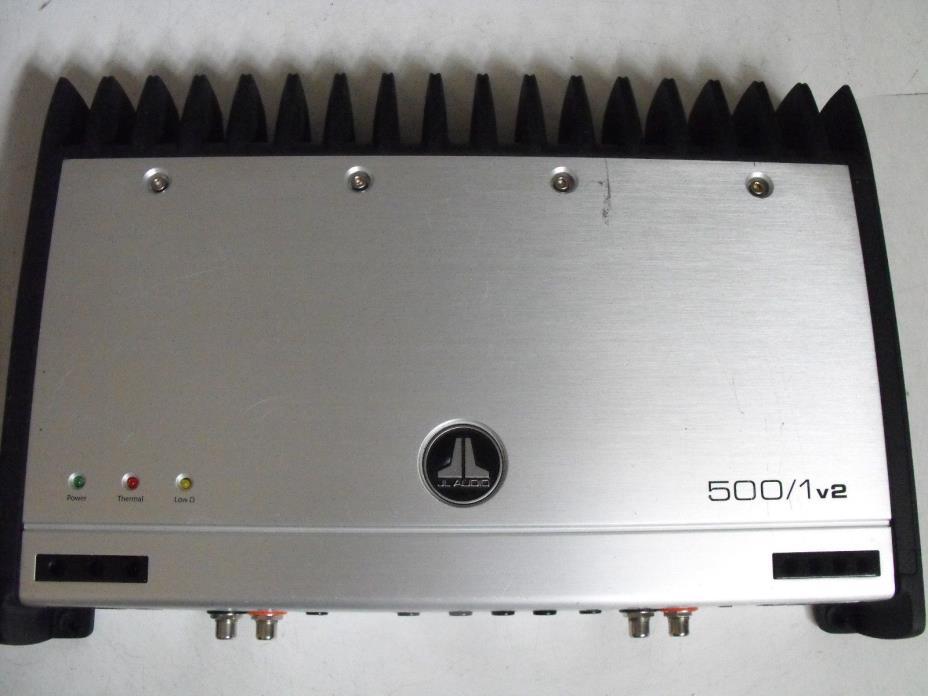 JL Audio 500/1v2 Mono Car Amplifier