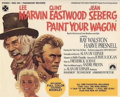 PAINT YOUR WAGON MOVIE ALBUM w/COLOR BOOK & AUTOGRAPHS CLINT & RAY