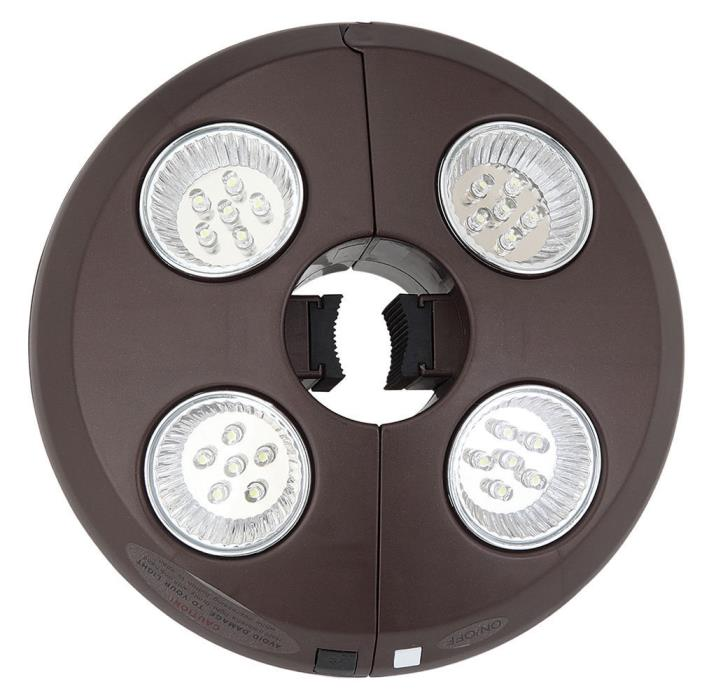 Patio Umbrella Light - with  4 LED Rechargeable Lights