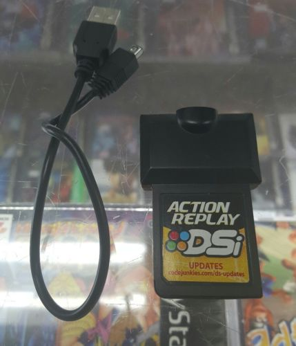 Action Replay DSi  Nintendo DS with Cable Tested Handheld Cheat Device Yellow