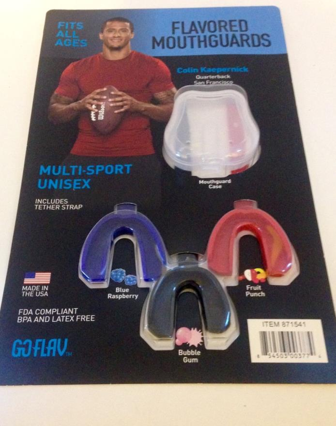 GO FLAV Multi Sport 3 Pack Flavored Mouth Guards
