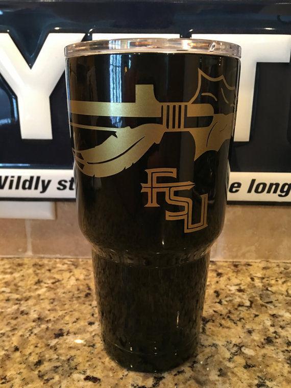 FSU YETI Rambler Tumbler 30oz--Powder Coated-Florida State University!