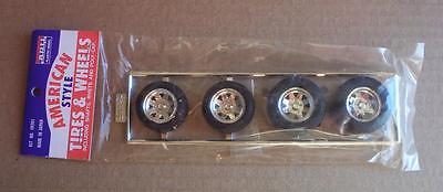 ARII BF Goodrich Radial T/A Tires Spoke Wheels Big n Little Vtg 80's 1:25 Parts