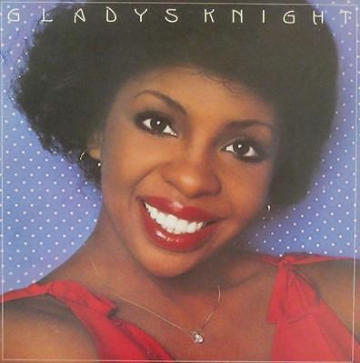 GLADYS KNIGHT SIGNED AUTOGRAPH CARD w/ LP ALBUM
