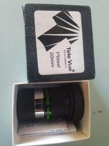 Televue 20mm Plossl NOS Eyepiece