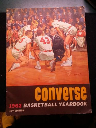 1962 Converse Basketball Yearbook