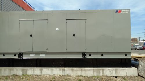 New 2014 MTU 750kW diesel Tier 2, 480V Weather Enclosed, Sound Proof With Tank