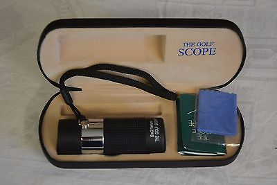 Unique Tools The Golf Scope 8 x 21mm Rangefinder Used Excellent Condition
