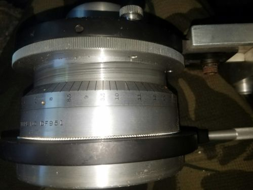Vintage Bausch & Lomb anamorphic motion picture lens