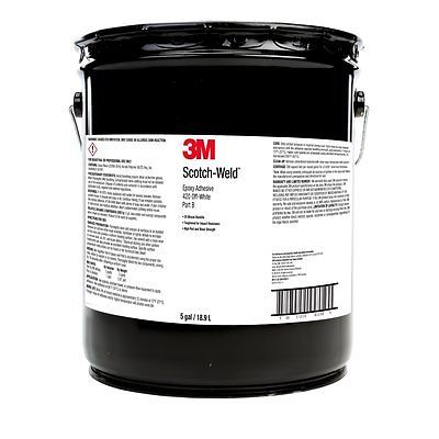 3M Scotch-Weld 420NS Part B Epoxy Adhesive, 55 Gallon Drum, Black
