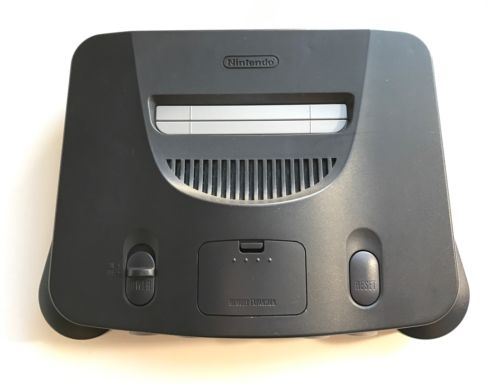 Nintendo 64 N64 Gray Replacement Console Only, Tested & WORKS!