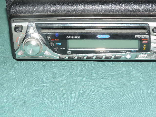 JENSEN CD3610XM  cd /raido not tested cd receiver 200watts