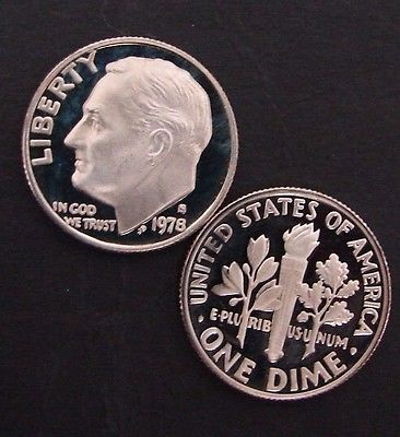 1978 -  S - PROOF - FRANKLIN D ROOSEVELT DIMES - 50 COINS - FREE SHIPPING
