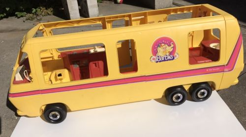 Vintage 1976 Barbie Star Traveler GMC RV Bus Camper