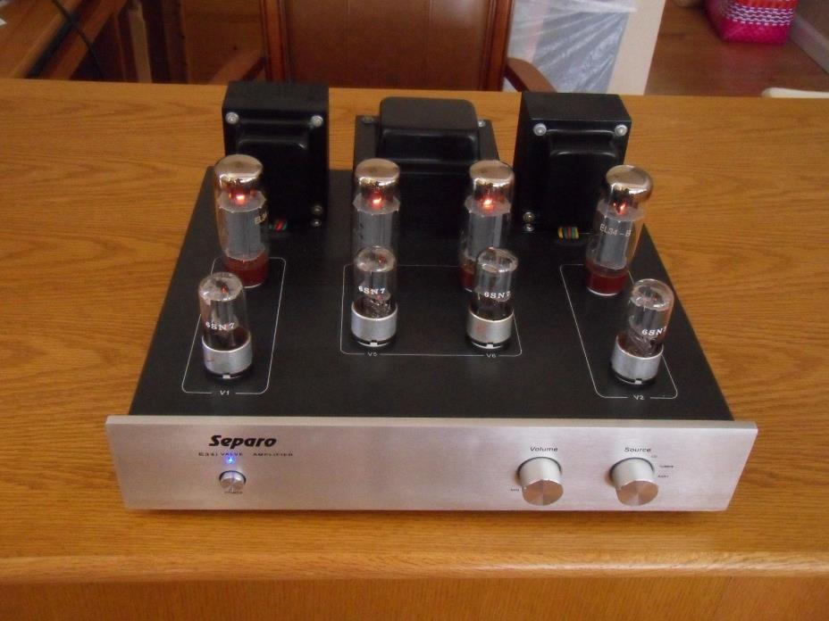 New Pacifric Creek E34I Stereo Integrated EL34 Tube Amplifier