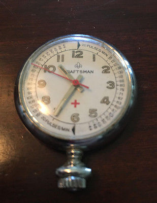 Vintage medical stopwatch for measuring pulse