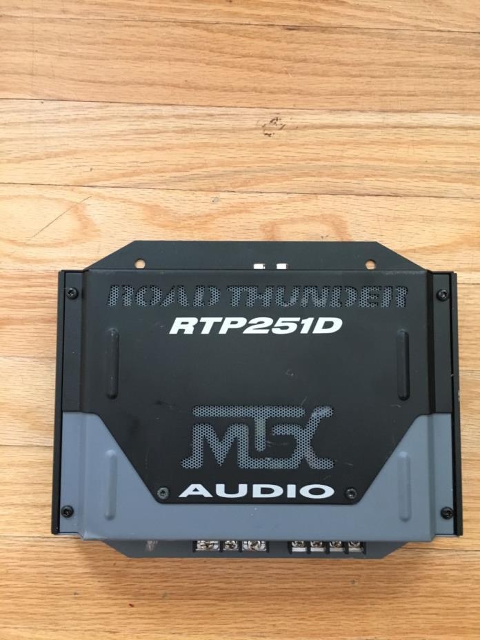 MTX RTP251D 1-Channel Car Audio Amplifier
