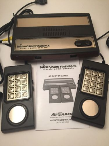Intellivision Flashback Classic Game Console with 2 Controllers Plug N Play