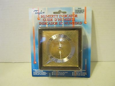 NEW TAYLOR 5502 INDOOR ASHTON HUMIDIGUIDE HYGROMETER THERMOMETER  Box of 6