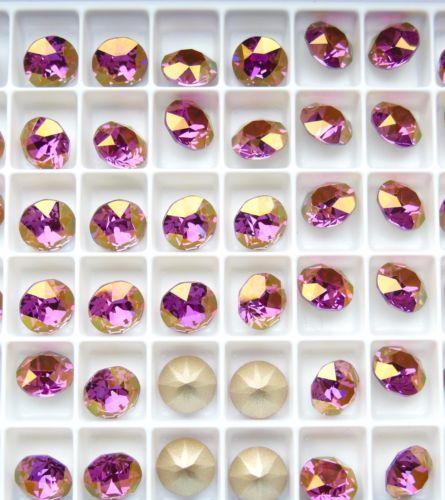 Swarovski 1088 Lilac Shadow F 39ss Xirius Chaton Stones