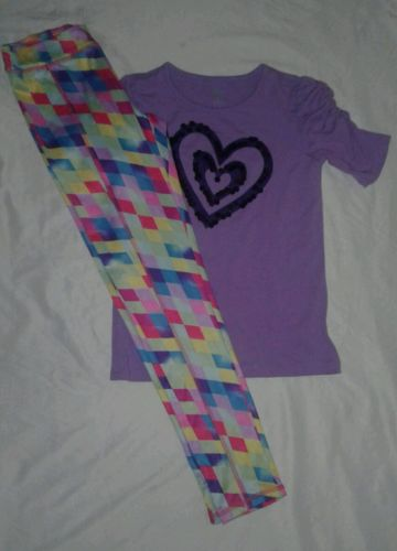 place & So 2ps girls outfit size 10/12