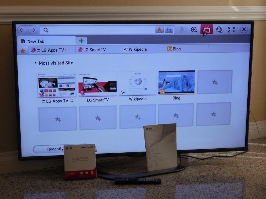 LG Smart TV 55LA6200 55