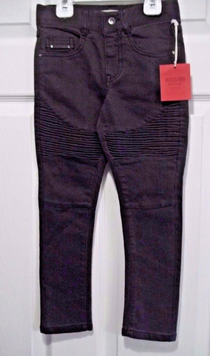 Girls MOSSIMO Gray Slim Stretch Jeans Sz 4  NWT