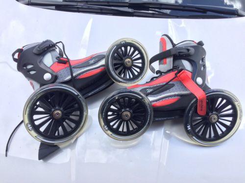 Size 12 Mojo Landroller Angled Wheel Inline Skates Roller Blades