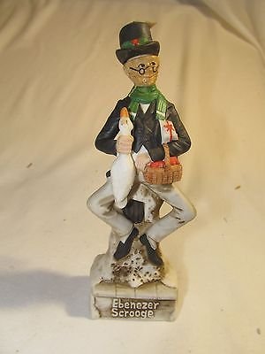 Ski Country Ebenezer Scrooge Mini Decanter