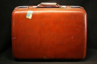 Vintage AMERICAN TOURISTER TIARA SUITCASE Hard Side Luggage TRAVEL STICKER