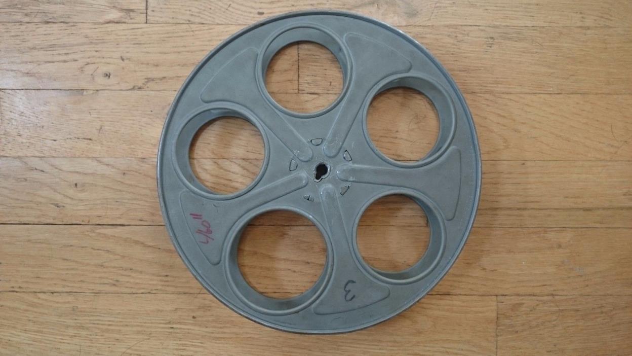 VINTAGE 35MM MOVIE FILM  REEL METAL 10