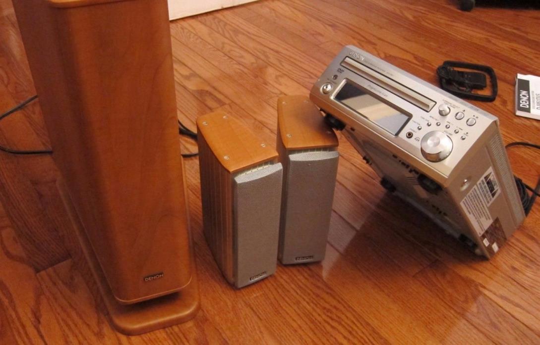 DENON DVD and CD Surround Sound Home Thearter in Box