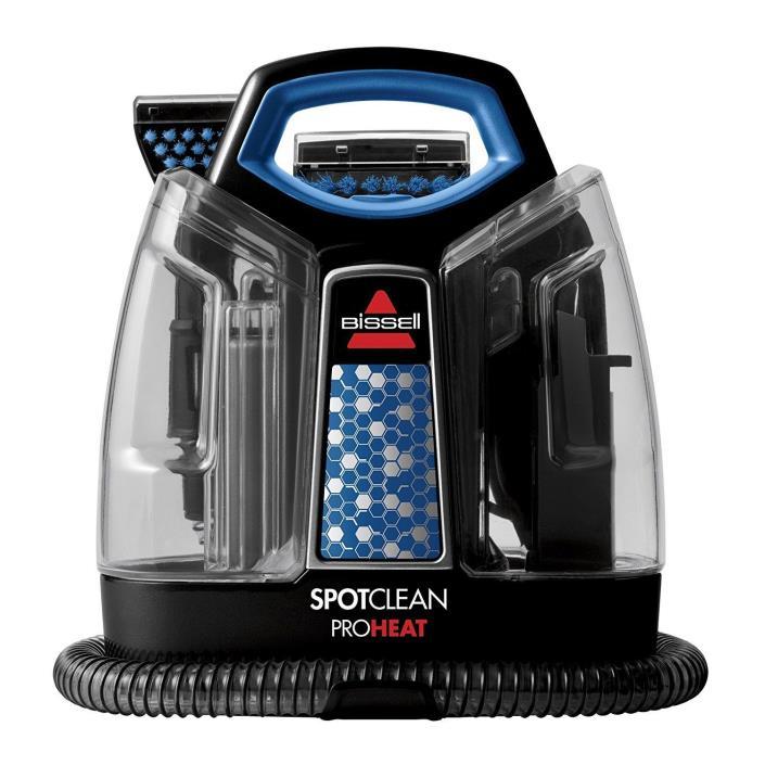 Portable Steam Vacuum Spot Clean Hand Held Auto Car Carpet Shampoo Heat Machine
